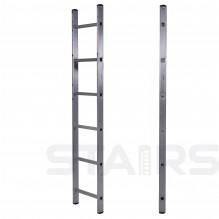 Лестница односекционная приставная 6 ступеней