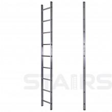 Лестница односекционная приставная 9 ступеней