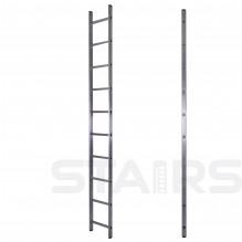 Лестница односекционная приставная 10 ступеней