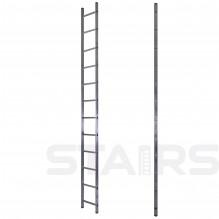 Лестница односекционная приставная 12 ступеней