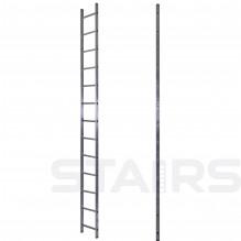 Лестница односекционная приставная усиленная 13 ступеней