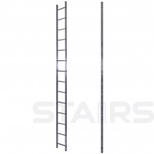 Лестница односекционная приставная 14 ступеней
