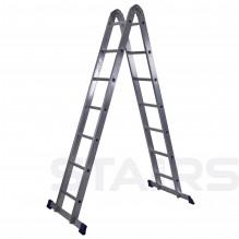 Лестница трансформер 2х7 ступеней