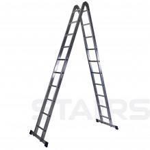 Лестница трансформер 2х10 ступеней